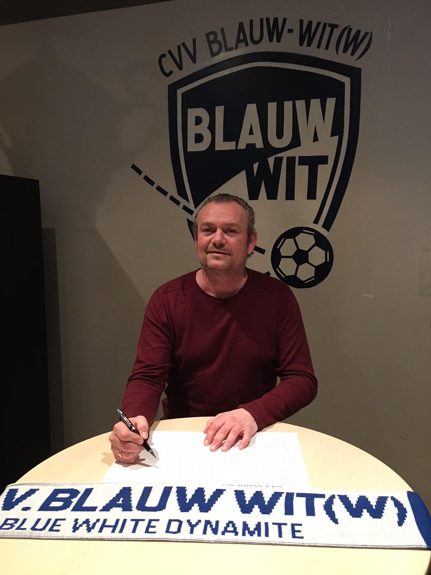 CVV Blauw-Wit vindt in Pieter van Netten nieuwe hoofdtrainer