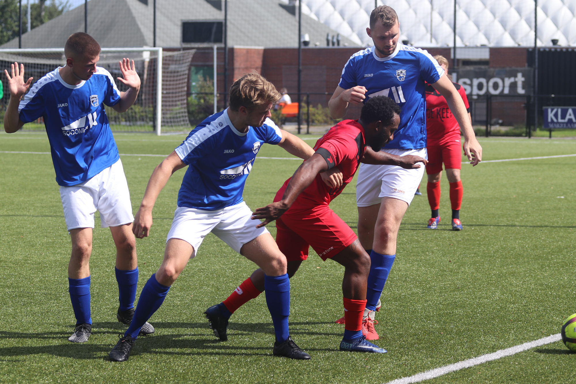 Blauw-Wit 1 speelt mini toernooi bij ZCFC